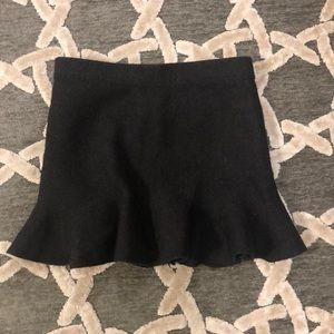Zara knit skirt.